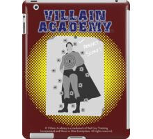 Villain Academy iPad Case/Skin