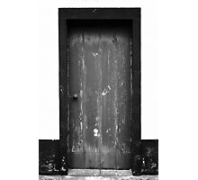 Old door Photographic Print