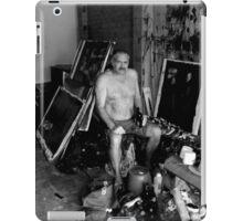 in the garage iPad Case/Skin