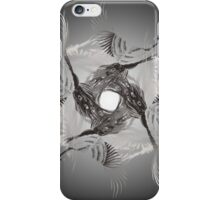 Abstract Peacock Cult iPhone Case/Skin
