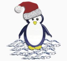 Christmas Pinguin Tee by BluAlien