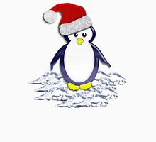 Christmas Pinguin Tee Womens Fitted T-Shirt
