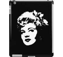 Shelley Winters Is Mysterious iPad Case/Skin