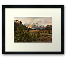 The Icefields Parkway  Framed Print