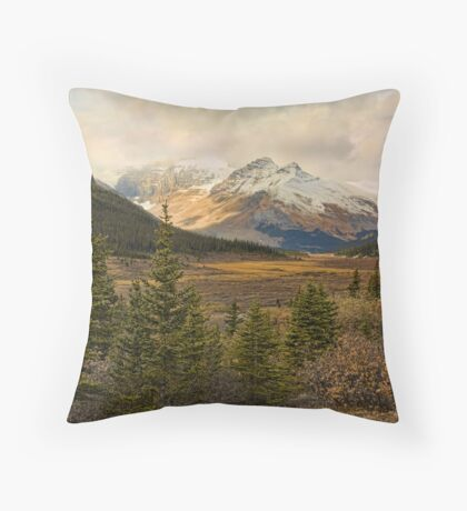 The Icefields Parkway  Throw Pillow