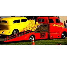 HOT ROD TRANSPORT Photographic Print
