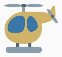 Helicopter Twitter Emoji Kids Clothes
