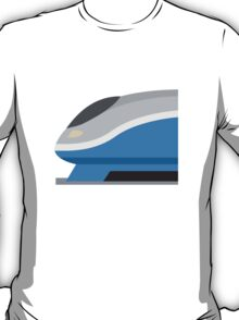 High-Speed Train Twitter Emoji T-Shirt