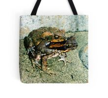 Frogs Humping Tote Bag