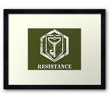 RESISTANCE - Ingress Framed Print