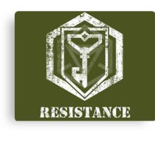 RESISTANCE - Ingress Canvas Print