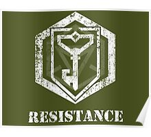 RESISTANCE - Ingress Poster