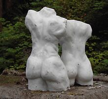 Torso male and female Sculptures by Stephan  Kraft