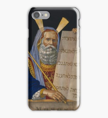 Moses iPhone Case/Skin
