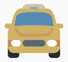 Oncoming Taxi Twitter Emoji Kids Clothes
