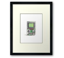 Game Boy Hi-Tech Transparent Framed Print