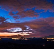 Panoramic Sunset by Meghan Bryant