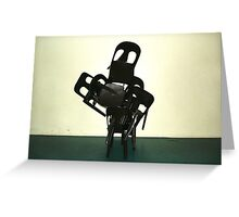 The Chair's Assembly Man Greeting Card