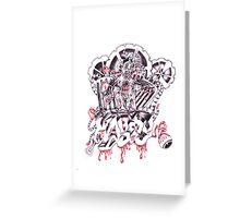 Angel Dust Greeting Card