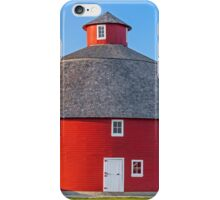 Red Round Barn iPhone Case/Skin