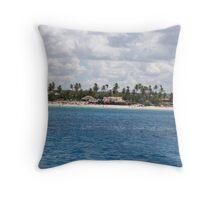 Punta Cana, Dominican Republic Throw Pillow