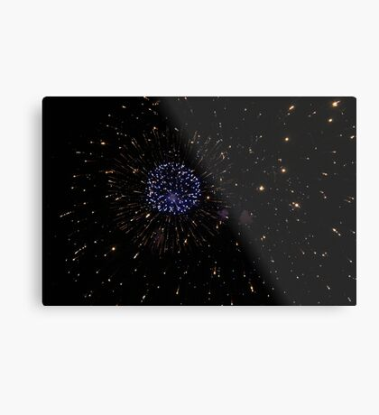 Fireworks  Metal Print