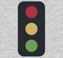 Vertical Traffic Light Twitter Emoji Kids Clothes