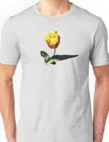 Yellow and Red Tulip Unisex T-Shirt