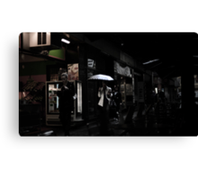The muted City Canvas Print
