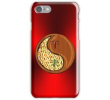 Aries & Goat Yin Wood iPhone Case/Skin