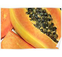 Strawberry Papaya Poster