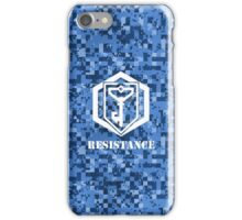 RESISTANCE Digital Camouflage - Ingress iPhone Case/Skin