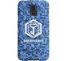 RESISTANCE Digital Camouflage - Ingress Samsung Galaxy Case/Skin