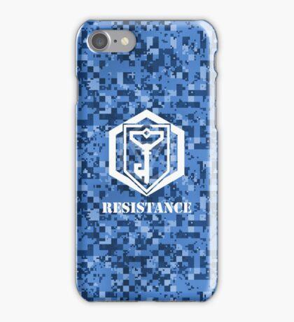 RESISTANCE Digital Camouflage - Ingress iPhone Case/Skin
