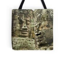 Heads of Stone Tote Bag