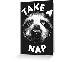 Take A Nap Greeting Card
