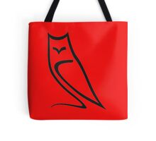 Vector Style Owl Tote Bag