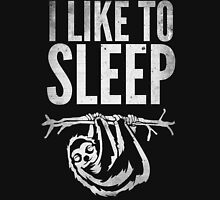 I Like To Sleep Mens V-Neck T-Shirt