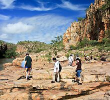 Katherine Gorge Hike by Nickolay Stanev