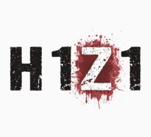 H1Z1: Bloody Z Title - Black Ink by Djidiouf