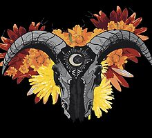 Cosmic Bull by PrettyMorbid
