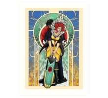 We all Become - Transistor Art Print