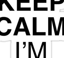 Keep Calm NINJA Sticker