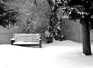 City Winter Scene by Leanna Lomanski