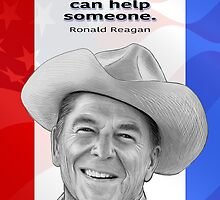 Ronald Reagan by Dave Stephens