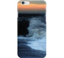 Warning  - High seas and gale force winds expected iPhone Case/Skin