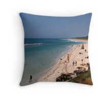 Local Beach 19 December 2008 Throw Pillow