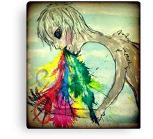 Vomiting Rainbows Canvas Print