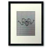 Doodle-Oodle Framed Print