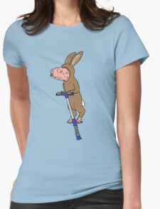 Naked Easter Womens Fitted T-Shirt